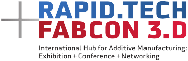 Rapid.Tech + FabCon 3.D Logo