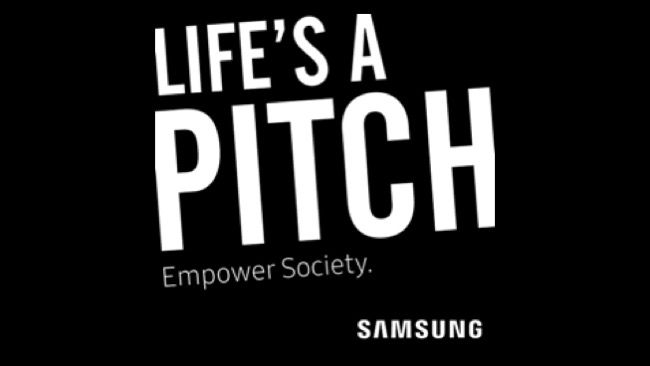 Life is a Pitch Logo